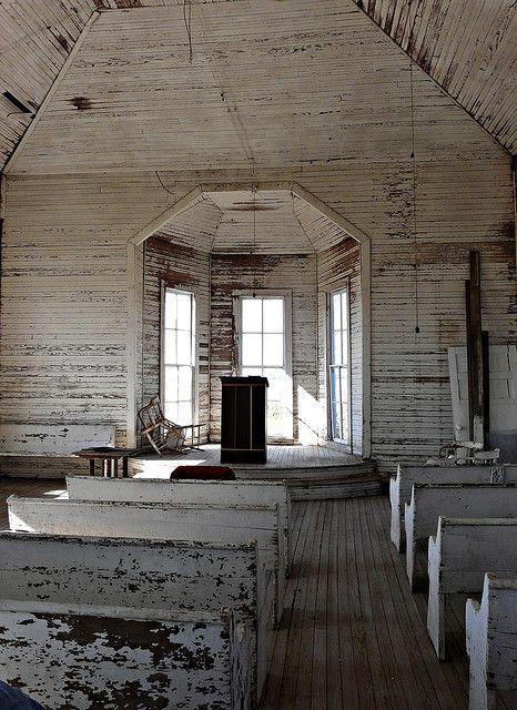 . abandoned church