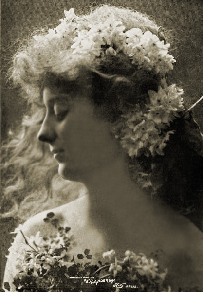 """""""Springtime"""", 1903. #vintage #Edwardian #classicism"""