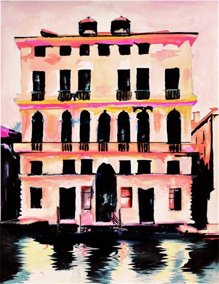 Prada Palazzo - Art Print.