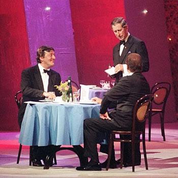 Stephen Fry & Prince Charles