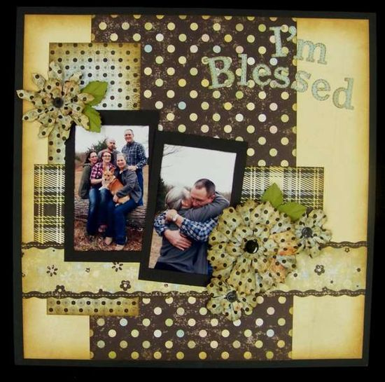 Love this... #family #blessing #scrapbook #layout