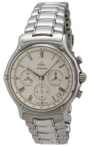 Ebel 1911 Automatic Chronograph Stainless Steel Mens Watch Calendar 9134901