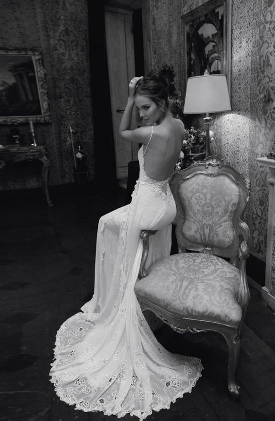 #backless Wedding Dress... Brides & grooms, bridesmaids & groomsmen, parents & planners ... the how, when, where & why of wedding planning ... itunes.apple.com/...  ?  THE GOLD WEDDING PLANNER iPhone App ? pinterest.com/... Answers to so may questions.
