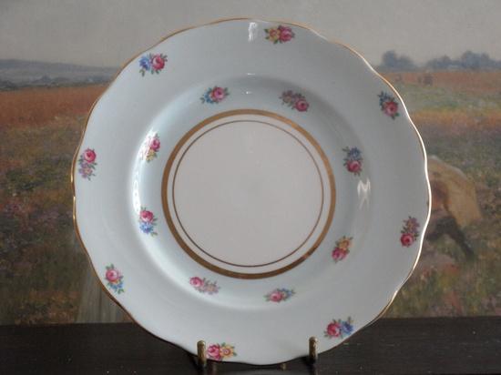 Vintage Colclough English Bone China Dessert Plate. $12.00, via Etsy.