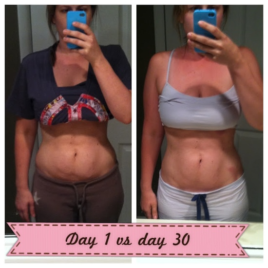 30 day / 300 Ab Challenge Results. 15 mins a day for 30 days.