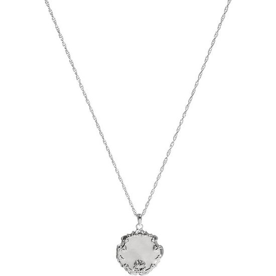 ASOS Silver Plated Vintage Style Locket Necklace