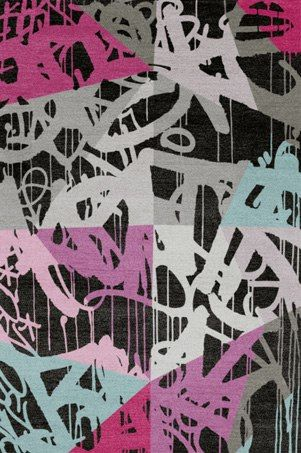 Brooklyn - Bold, Original & Creative Handmade Designer Rugs by Linus Dean