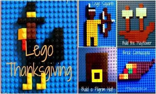 lego thanksgiving ideas...ways to keep the kids busy on Thanksgiving day WITHOUT the tv