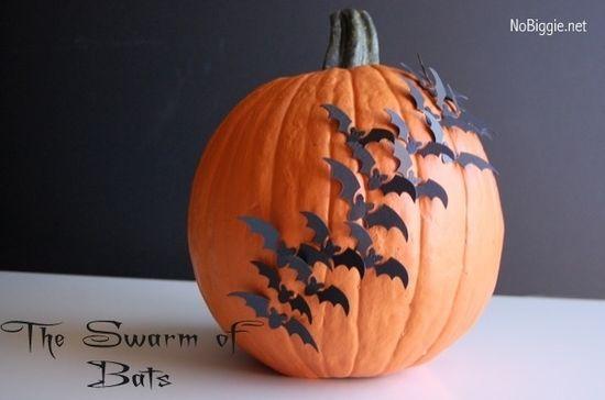 The Swarm of Bats Pumpkin