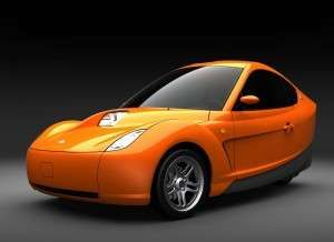 The Myers Motors Electric Car is a Three-Wheel Explosion of Orange #ecofriendly trendhunter.com