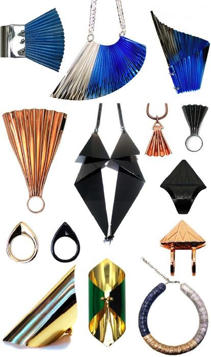 Fan jewelry