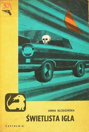 Vintage Polish book cover design.