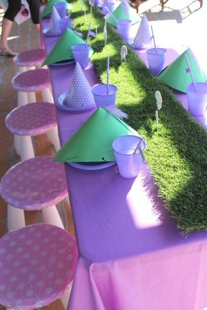 Table at a Fairy Party #fairy #party