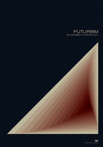 Futurism - An Odyssey in Continuity #7b by Simon C Page, via Flickr