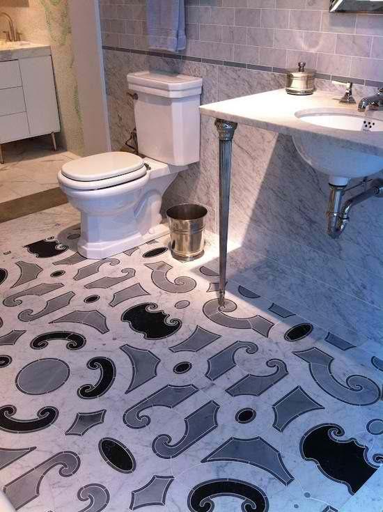 stunning floor tile  #KBHomes