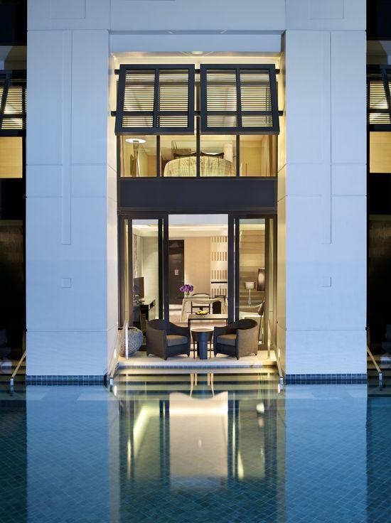 Siam Kempinski Hotel Bangkok, interior designed by HBA/Hirsch Bedner Associates