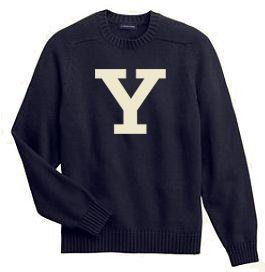 I love preppy vintage college sweaters.
