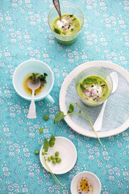 Pea Soup / Cannelle Vanille