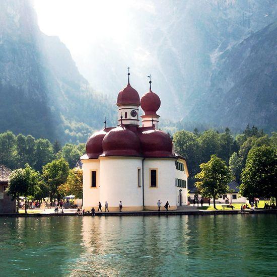 St. Bartholomew, Konigsee, Bavaria, Germany