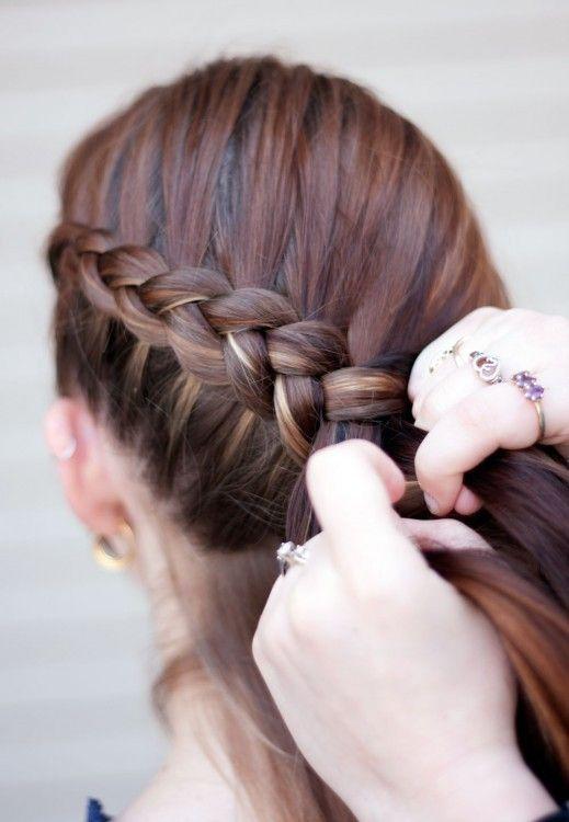 The iconic Katniss braid
