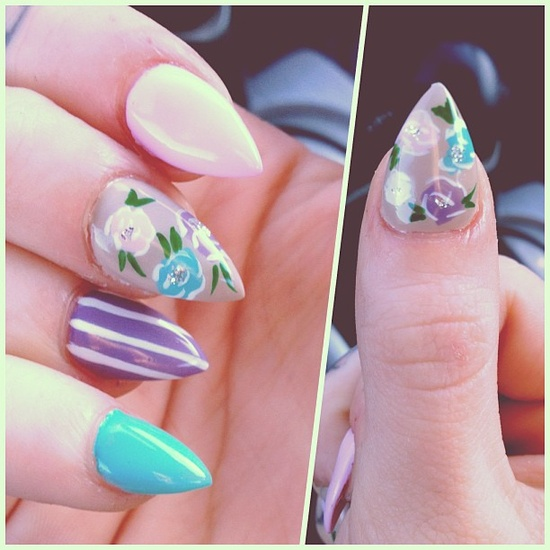 vannydita's nails! Show us your tips—tag your nail photos with #SephoraNailspotting to be featured on our social sites!