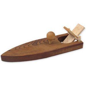 Wood Toy Shop Race Boat