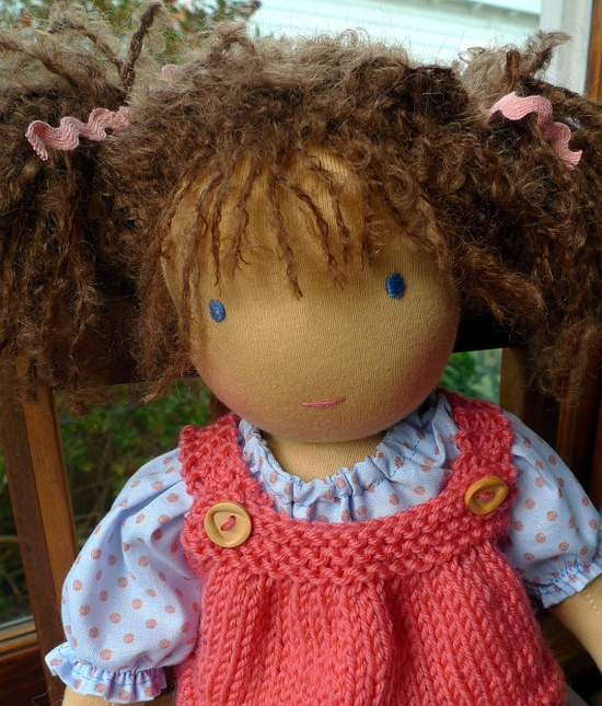 handmade dolls are adorable!
