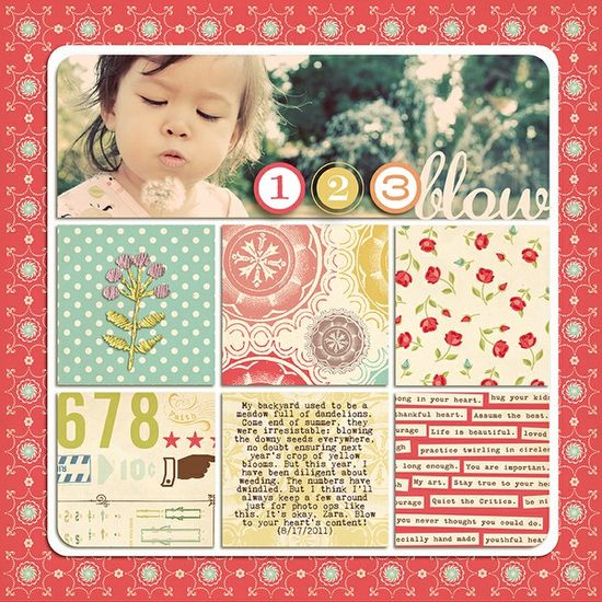 very cute, love the layout