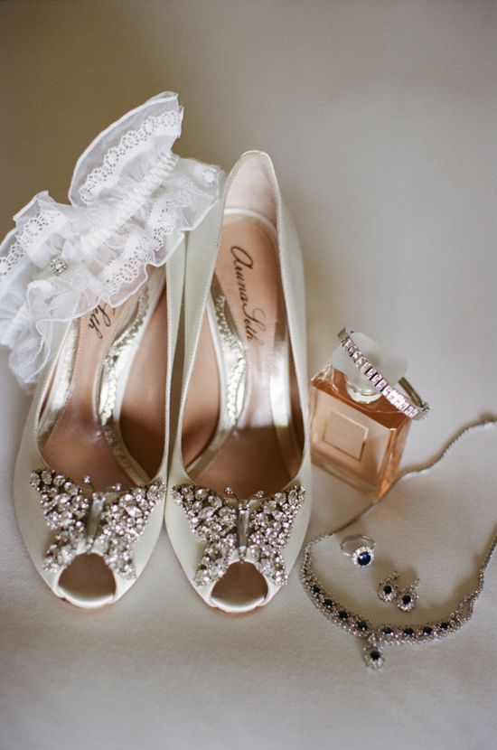 Aruna Seth Butterfly Shoes