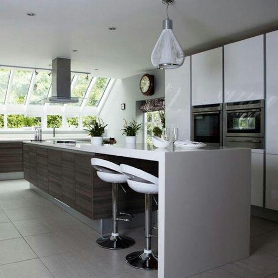 Modern Kitchen Design, just not the floor...