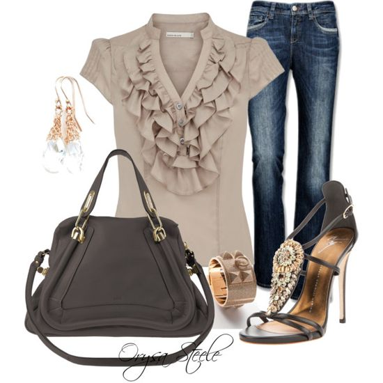 """""""In the Nude"""" by orysa on Polyvore"""