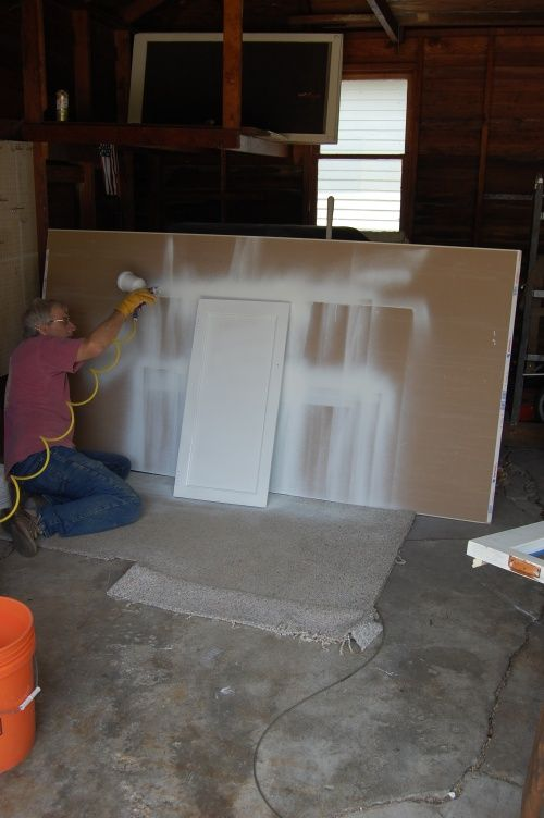 How To: Painting Kitchen Cabinets