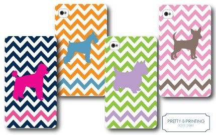 Pretty Printing Custom PRETTY PUPPY PHONE CASES