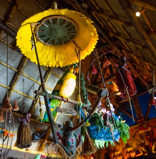 Visiting The Enchanted Tiki Room At Magic Kingdom Park at Walt Disney World Resort..