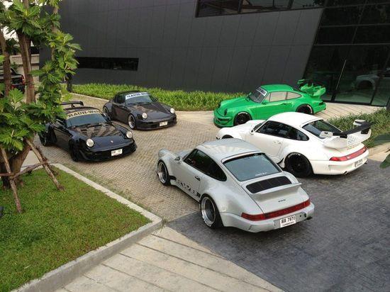 RWB Porsche meeting