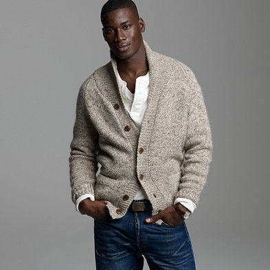 J Crew sweater & jeans #men's #fashion