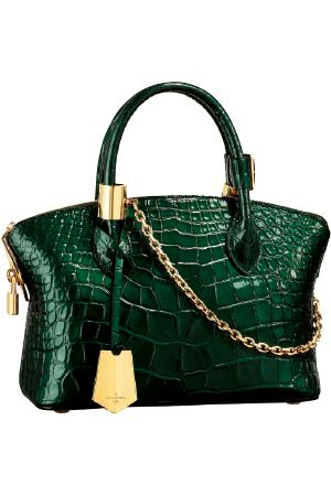 Louis Vuitton croc bag