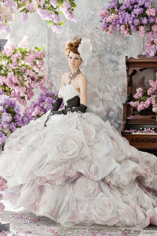 Stella de Libero Wedding Dress - Lilac Bridal Collection
