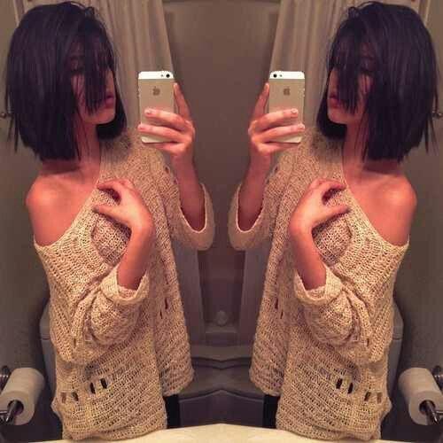 Love her short hair #pmtsslc #paulmitchellschools #hairstyle #girly #simple #trendy #2013 #shorthair #short #hair #cute #love
