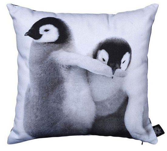 baby penguin cushion