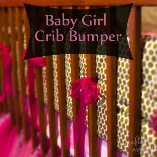 Baby Girl Crib Bumper
