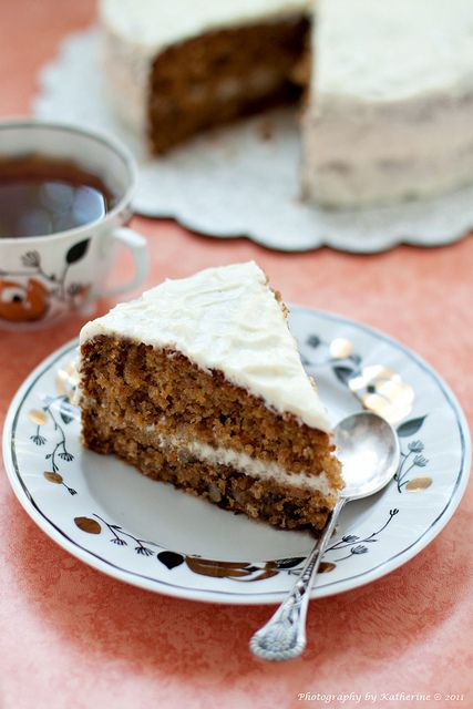 One of my absolute all-time faves: Carrot Cake. #cake #carrot #vegetables #food #cooking #baking #dessert #fall #autumn #winter #classic
