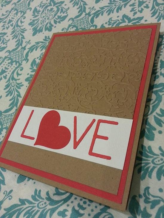 Cute V-day card