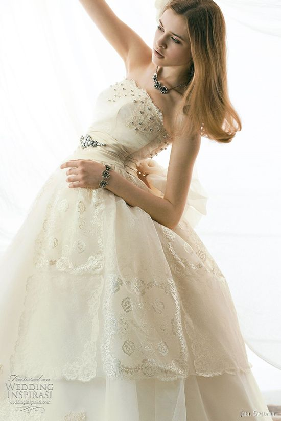 jill stuart bridal collection