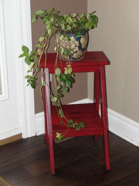 DIY Furniture : DIY Ladder Table
