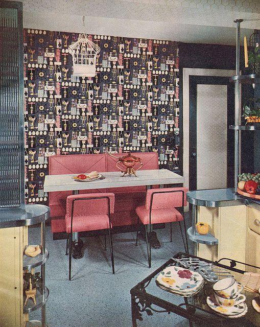 Better Homes & Gardens 1953 interior