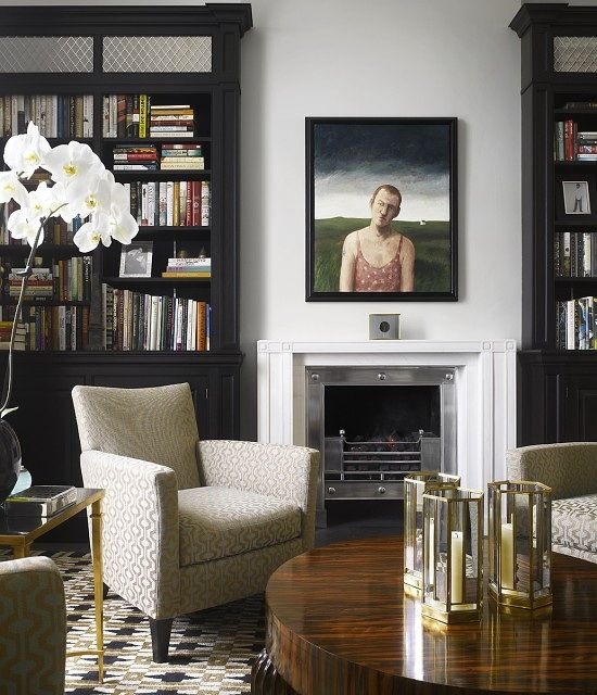 London home, interior design by Bruce Norman Long