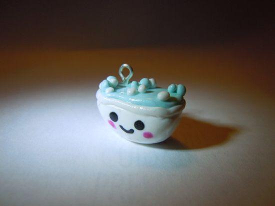 Kawaii Bathtub Polymer Clay Charms by petrichorclothing on Etsy, $3.00