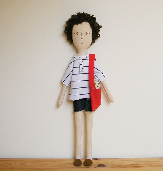 Handmade doll - Manuel