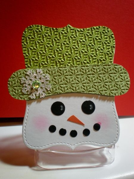 Stampin' Up!  Top Note Snowman  Marian Foerster